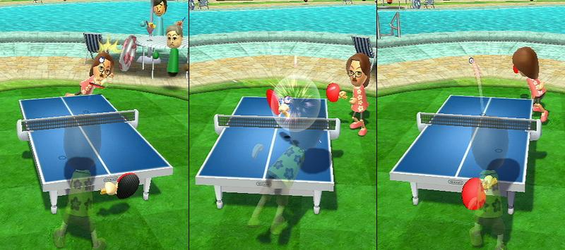Wiiスポーツリゾートのピンポン、チャンピオンに …