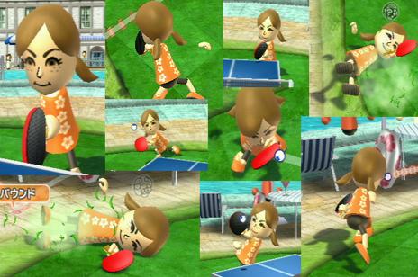 Wiiスポーツ リゾート ピンポン