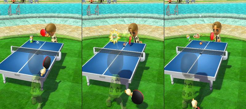ピンポン - Wiiスポーツ リゾート( Wii Sports Resort) …