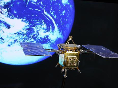 『小惑星探査機 はやぶさ 特別メッキ版』 ギャラリー