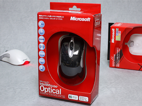 Microsoft 『IntelliMouse Optical Black』 購入