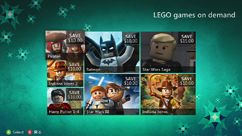 LEGO games on demand