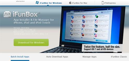 iFunBoxのサイト