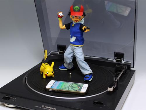 【ポケモンGO】 レコードプレーヤー(ターンテーブル)でタマゴを自動孵化させる