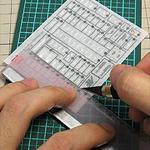 MG ユニコーンガンダム Ver.Ka 製作記07:ドライデカール貼り
