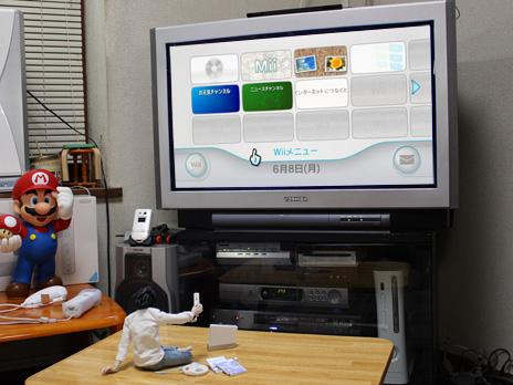 任天堂 Wii 購入&設置