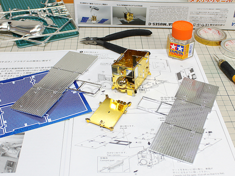 『小惑星探査機 はやぶさ 特別メッキ版』製作記2