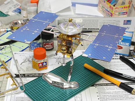 『小惑星探査機 はやぶさ 特別メッキ版』 製作記2 完成