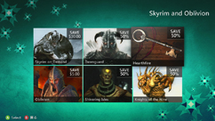Skyrim and Oblivion