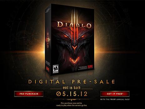 Diablo III DIGITAL PRE-SALE