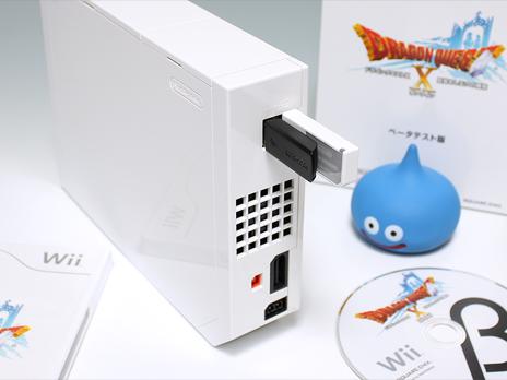Wii USBメモリ接続