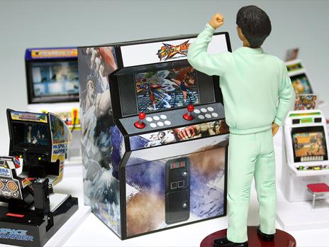 『ストリートファイター X 鉄拳』 北米版特典 アーケード筐体型貯金箱