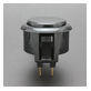 ハメ込み式押しボタン30φ (ビデオゲームボタンサイズ)【OBSF-30】