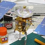 小惑星探査機 はやぶさ 特別メッキ版 製作記3:完成
